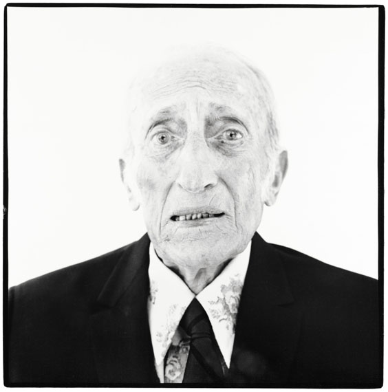 Richard Avedon: Jacob Israel Avedon, father of Richard Avedon, Sarasota, Florida, August 25, 1973, © The Richard Avedon Foundation. Used by permission
