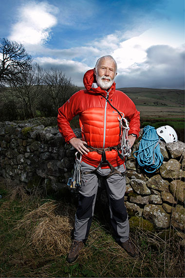 Sir Chris Bonington (age 77), mountaineer, from the series Silver Heroes, Cambria, Great Britain. 2012 © Karsten Thormaehlen