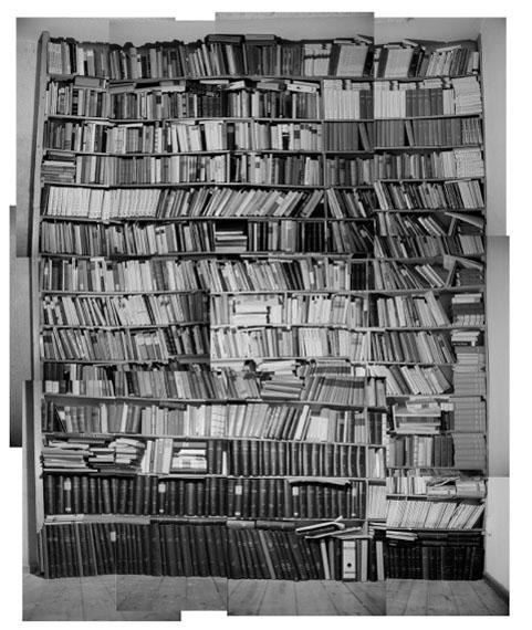 Evidenz, Bibliothek I (1996/2010)© Martin Mlecko, courtesy PINTER & MILCH