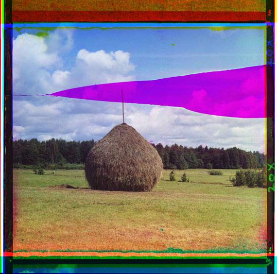 Procoudine-Gorsky Sergeï Mikhaïlovitch, 1863-1944[Juillet-Août 1909] – Meule de foin© Library of Congress, Procoudine-Gorsky Collection/Famille Procoudine-Gorsky