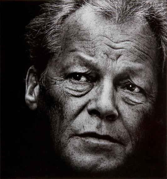 Willy Brandt, 1977 © Konrad Rufus Müller courtesy of PINTER & MILCH