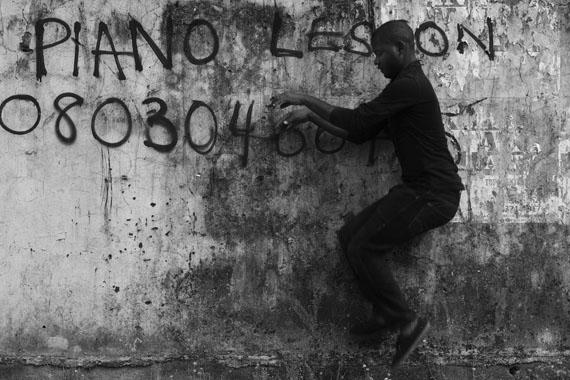 Abraham OghobaseUntitled2012, Lagos101 x 152 cm, C-PrintSeries: Untitled 2012Abraham Oghobase ©Prix Pictet Ltd 2013/14