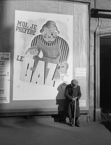 Le Gaz, Paris, 1935 © Fred Stein