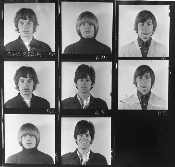 Visa Portraits, Masons Yard Studio, 1965 © Gered Mankowitz