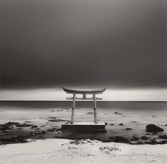 Michael KennaTorii Gate, Shosanbetsu, Hokkaido, Japan 2004Silver gelatin printEdition of 45© Michel Kenna / Courtesy of Bernheimer Fine Art
