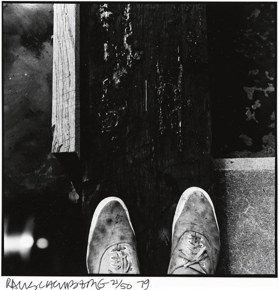 Robert Rauschenberg, Rauschenberg Photographs portfolio with 12 silver prints, 1979. Estimate $15,000 to $25,000.