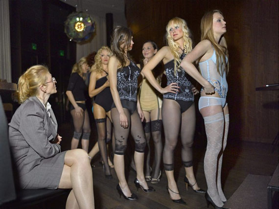 Miss Russian Switzerland 2008, The Dolder Grand, Zürich. from the series «Miss» © Martin Guggisberg