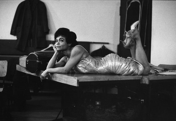 Robert Lebeck: Eartha Kitt, 1960