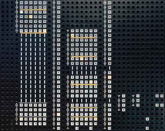 """Matthias Hoch: """"Silver Tower #14"""" 2009, C-Print, 90 x 115 cm© Matthias Hoch, VG Bild-Kunst, Bonn 2014"""