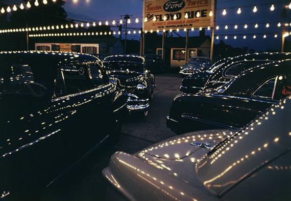 Used Car Market, Detroit, 1953 © Emil Schulthess / Fotostiftung Schweiz / ProLitteris