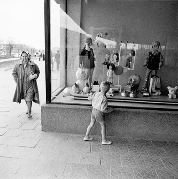At a Shop Window, 1972 © Antanas Sutkus