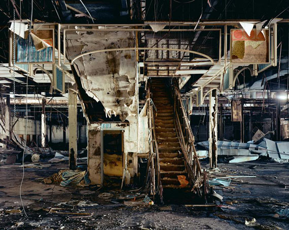 Brian UlrichJC Penney, Dixie Square Mall, 2009Chromogenic process color print121.9 x 152.4 inCourtesy the artist and Julie Saul Gallery © Brian Ulrich