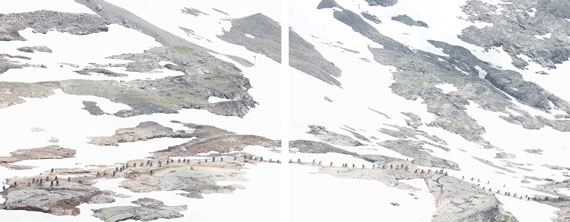 Walter Niedermayr: Dôme des Petites Rousses 16, 2013