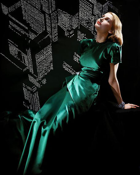 Erwin Blumenfeld: City Lights, New York, 1946 (from Vive L'Amerique !! portfolio, 2013)