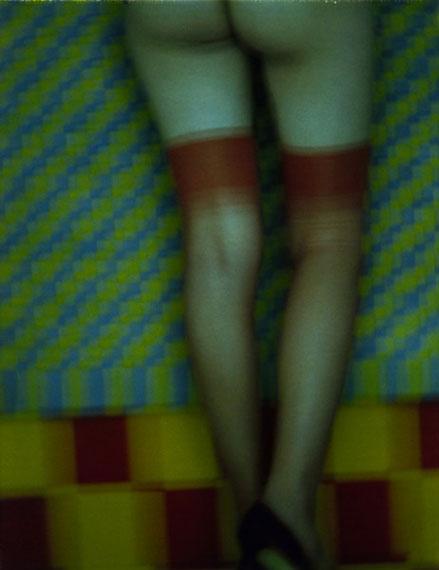 Fashion 7, Stockings, 1997 © Sarah Moon courtesy Michael Hoppen Gallery