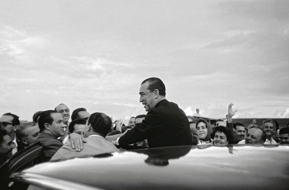 Thomaz Farkas: Präsident Juscelino Kubitschek am Tag der Einweihung von Brasília, 21. April 1960, © Instituto Moreira Salles