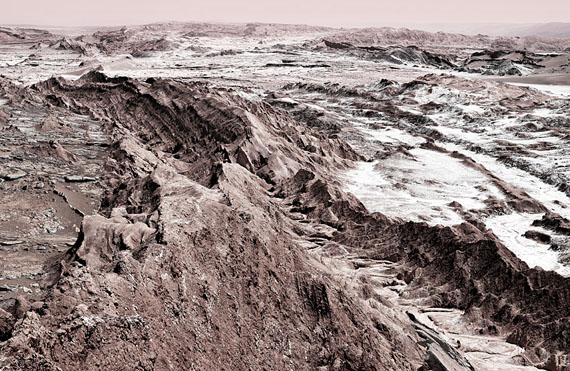 "Michael Najjar: ""interplanetary landscape"", 2014, 202 x 132 cm | 102 x 67 cm, edition of 6"