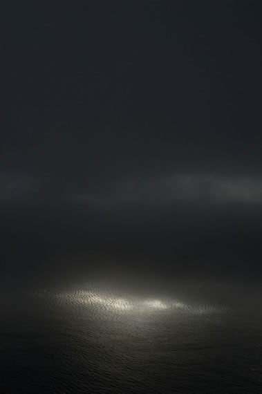 Ralf Schmerberg: NATURAL ENLIGHTMENT, Big Sur, California, USA, 2010, Ditone Print, 225 x 150 cm