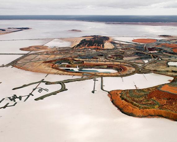 EDWARD BURTYNSKYSilver Lake Operations #2, Lake Lefroy, Australia, 2007C-Print, 39 x 49 inches / 99,06 x 124,46 cm