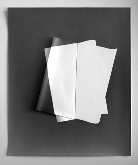 Gottfried Jäger Fotopapierarbeit 2011-III-1-2Silbergelatine, 60 x 50 cm, Unikat2011