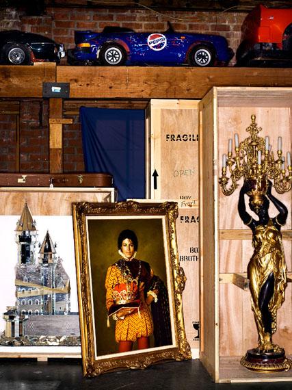 """Neverland Lost - A Portrait of Michael Jackson""© Henry Leutwyler"