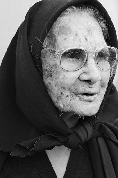 Consolata (*1908), Perdasdefogu, Sardinien, 2013 © Karsten Thormaehlen