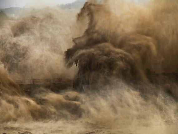 Edward BurtynskyXiaolangdi Dam #4, Yellow River, Henan Province, China  2011Edition: 9Image Size: 39 x 52 inches / 99 x 132 cmCourtesy Galerie Stefan Röpke, Köln, Galerie Springer Berlin