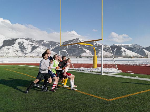 Soccer Practice, Star Valley Braves, Afton, Wyoming 2010 © Lucas Foglia