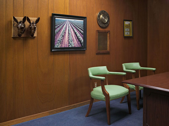 Loan Office, Happy State Bank, Silverton, Texas 2012 © Lucas Foglia