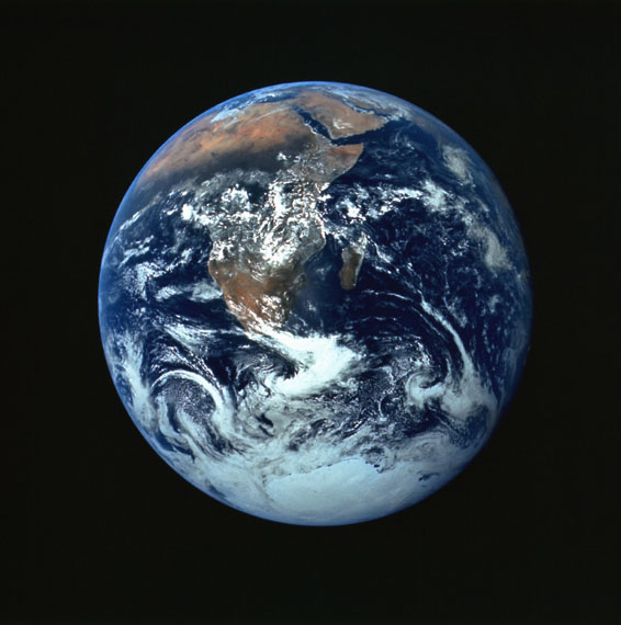 PHOTOGRAPH OF THE EARTHApollo 17 Mission, December 1972 © NASA/Johnson Space Center, courtesy Mike Gentry