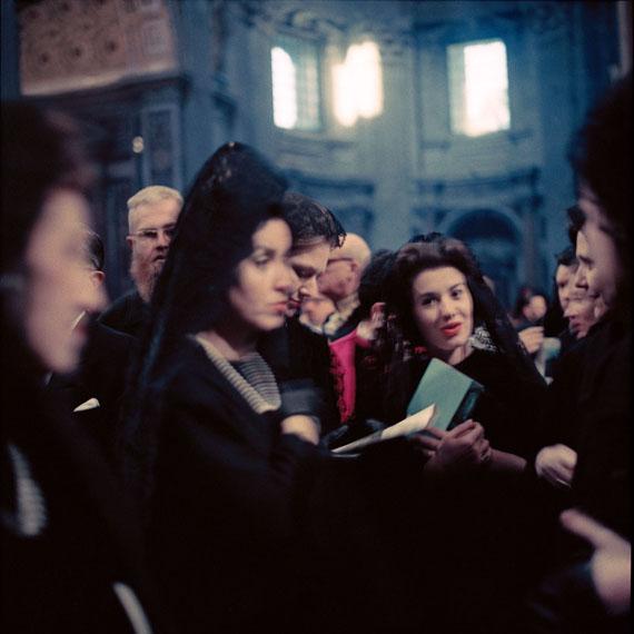 Lothar Wolleh: o.T., Rom, um 1962-1965, aus der Reihe zum II. Vatikanischen Konzil © Oliver Wolleh