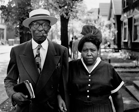 Gordon Parks, Husband and Wife on Sunday Morning, Fort Scott, Kansas, 1949. Courtesy of The Gordon Parks Foundation