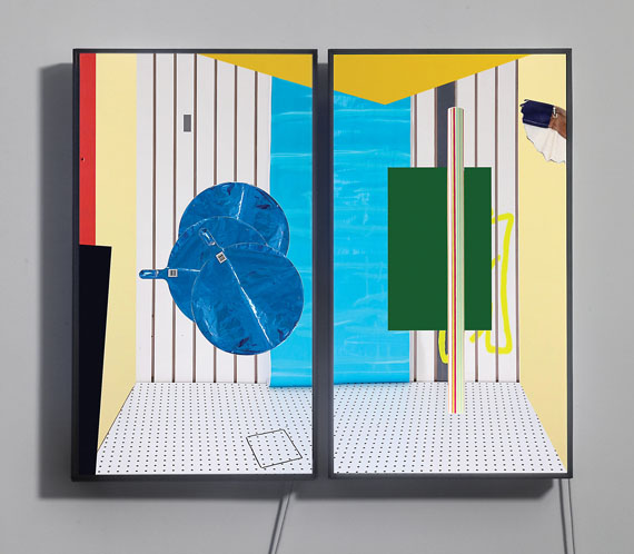 Owen Kydd, Window Study, 2013, video screen and media player. Courtesy of the artist