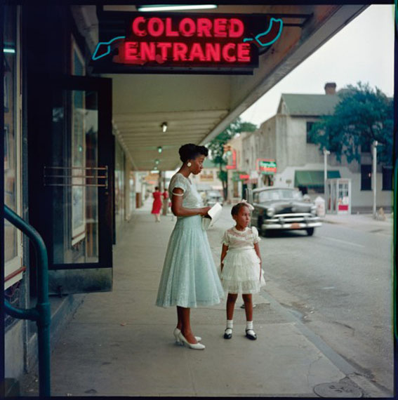 Gordon Parks, Department Store, Mobile, Alabama, 1956© The Gordon Parks Foundation. Courtesy Nicholas Metivier Galler