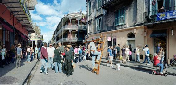 Scott McFarland, Man on Ladder, Royal Street, New Orleans, 2012, Courtesy of the artist
