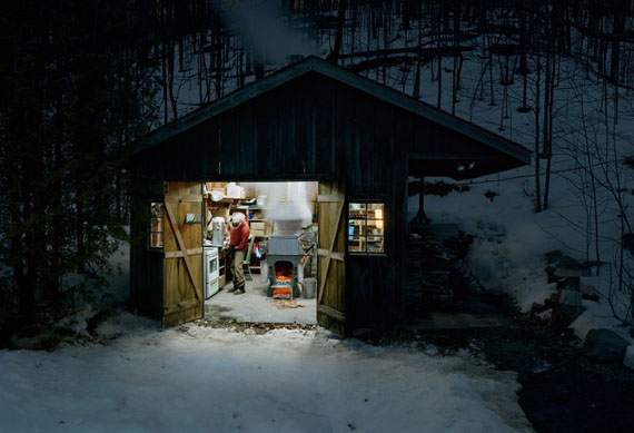 Scott McFarland, Sugar Shack, Caledon, Ontario (study 3), 2013, Courtesy of the artist