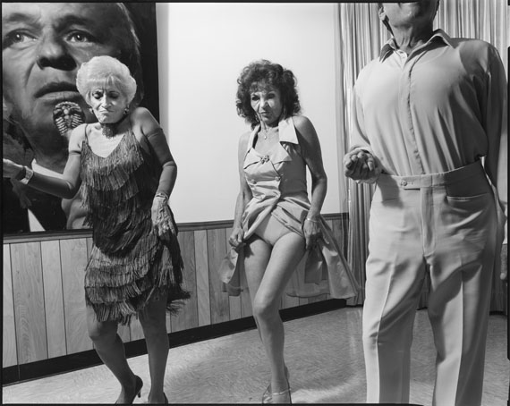 © Mary Ellen Mark, Vera Antinoro, Rhonda Camporato, and Murray Goldman, Luigi's Italian American Club, Miami, Florida, 1993