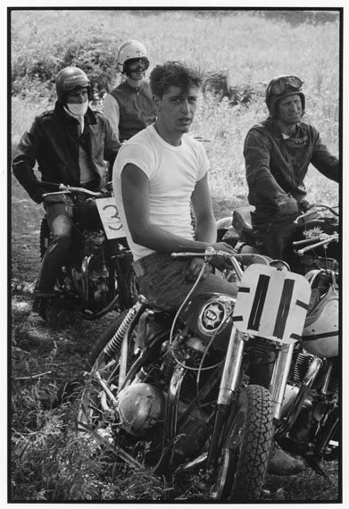 Racers at McHenry, Illinois © Danny Lyon, Courtesy of ATLAS Gallery London
