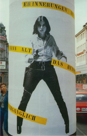 Ulrike Rosenbach: typisch frau, 1980© Ulrike Rosenbach, VG Bildkunst Bonn, 2014