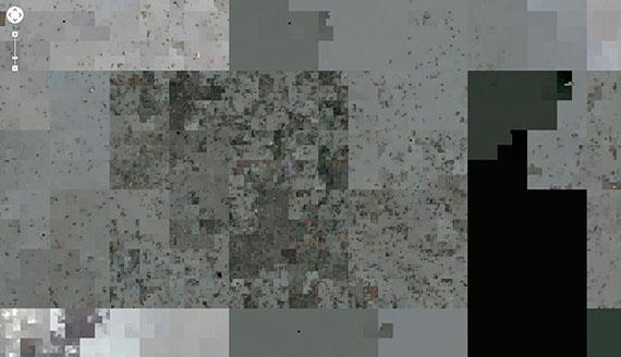 Jakob Wierzba: Two billion pixels per hour, 2013/14