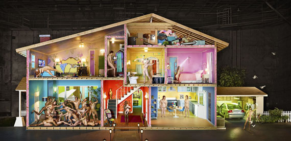 David LaChapelle Self-Portrait as House, 2013