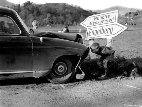 Arnold Odermatt: Oberdorf, 1959, Baryt Abzug, 30 x 40 cm © Urs Odermatt, Windisch/CH