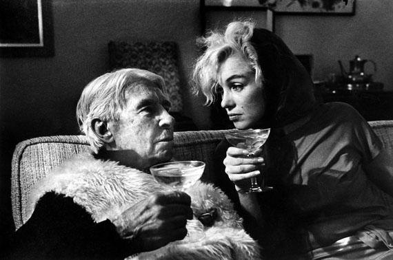 Arnold Newman: Carl Sandberg & Marilyn Monroe, 1962