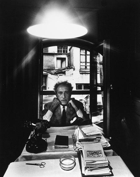 Arnold Newman: Jean Cocteau, writer, painter, filmmaker, Paris, France, 1960