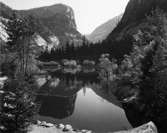 Ansel AdamsMirror Lake, Morning, Yosemite National Park, 1928Gelatin silver print7.62 x 9.56 in.Est. US$4,000–6,000