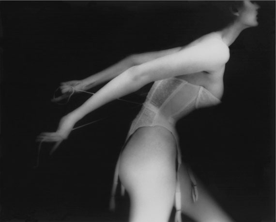 "Lillian Bassman. ""It's a Cinch, Carmen, lingerie by Warner's"", 1951 (alternate version published in Harper's Bazzar, September 1951). © Estate of Lillian Bassman"