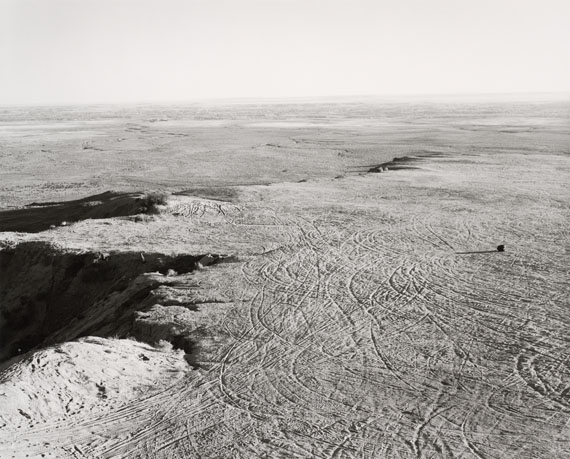 Robert AdamsQuarried Mesa Top, Pueblo County, Colorado, 1978Gelatin silver print, 22.7 x 28.3 cmYale University Art Gallery, Purchased with a gift from Saundra B. Lane, a grant from the Trellis Fund, and the Janet and Simeon Braguin Fund.© Robert Adams
