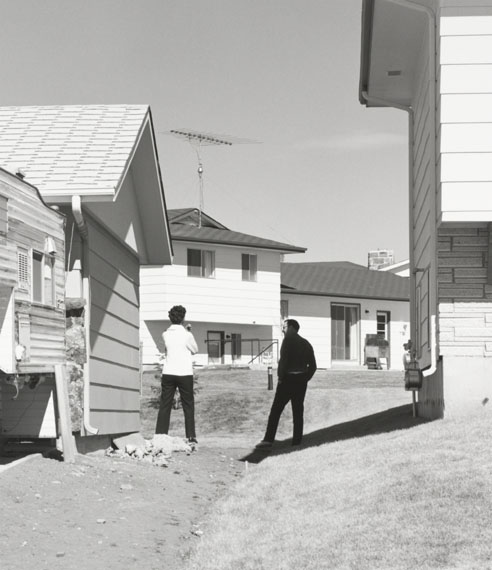 Robert AdamsIn a New Subdivision, Colorado Springs, Colorado, 1969Gelatin silver print, 15.2 x 15.2 cmYale University Art Gallery, Purchased with a gift from Saundra B. Lane, a grant from the Trellis Fund, and the Janet and Simeon Braguin Fund.© Robert Adams
