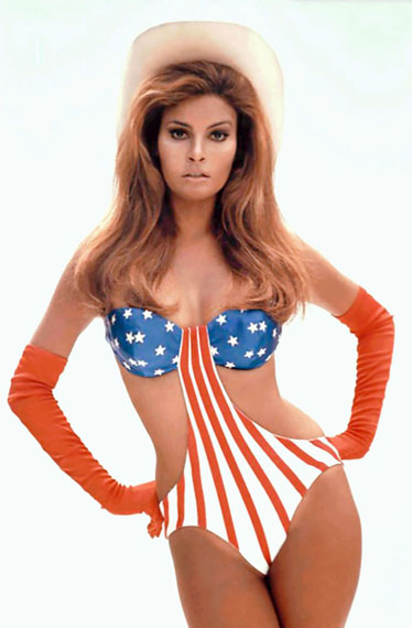 Lot 15TERRY O'NEILL (b. 1938)Raquel Welch, Myra Breckinridge, 1970chromogenic print, printed 2014image: 93.7 x 61.6cm. (36⅞ x 24¼in.)sheet: 99.1 x 73.1cm. (39 x 28¾in.)This work is number 1 from the edition of 50.