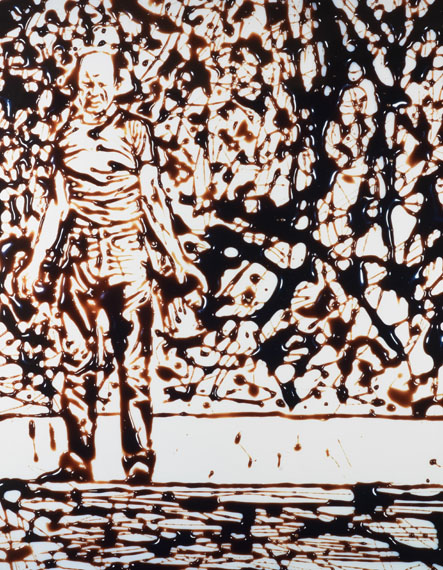 Vik Muniz, Action Painter, 1999 © Vik Muniz, Courtesy Edwynn Houk Gallery